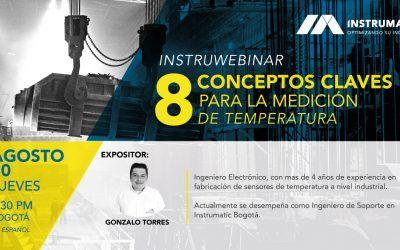 8 Conceptos Claves para la Medición de Temperatura